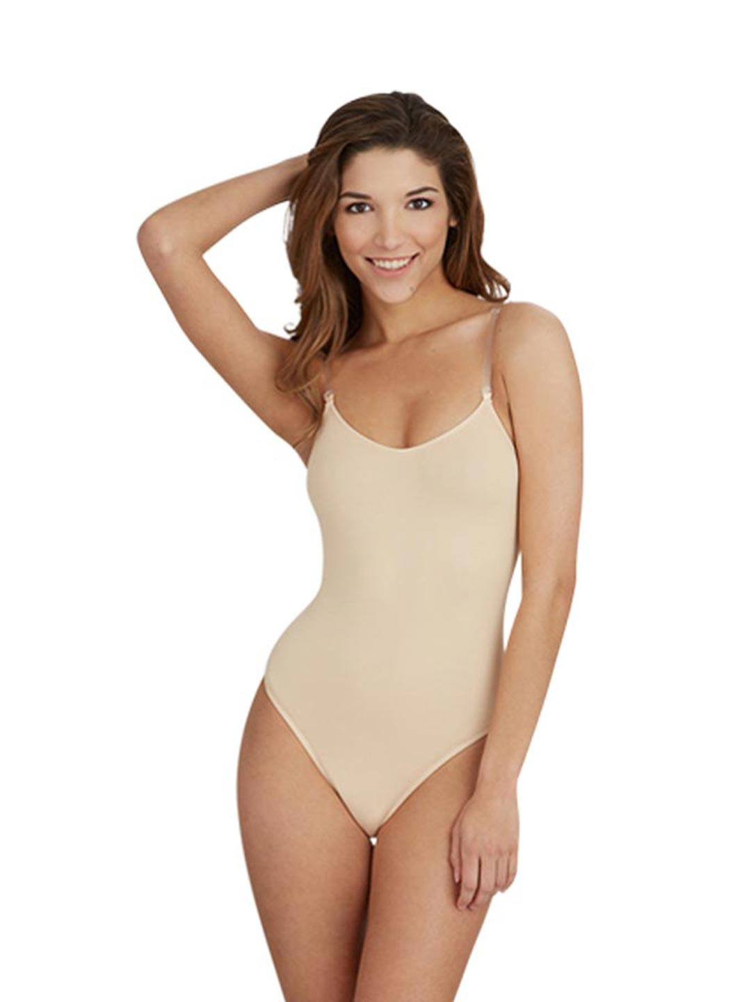 b6ee13e5c8253 Best-Seller Camisole Leotard with Clear Transition Straps