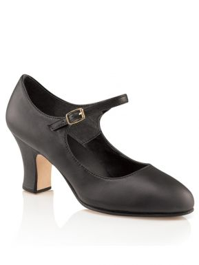 Soft Leather T-Strap Character Shoe is
