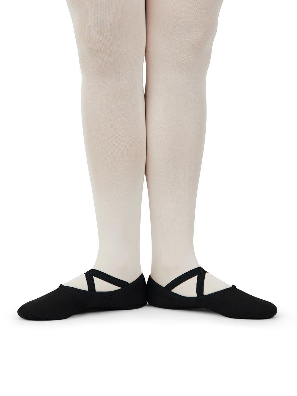 Capezio Child Size 12 White Polyester Toe Cover
