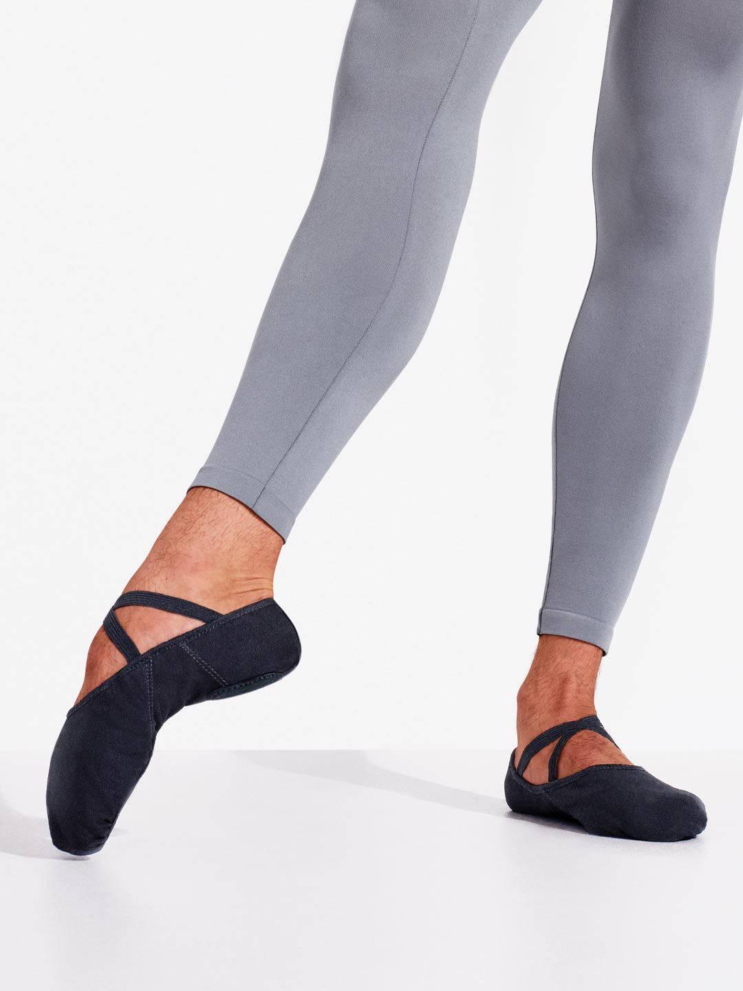 Stretch Canvas Romeo Ballet Shoe for