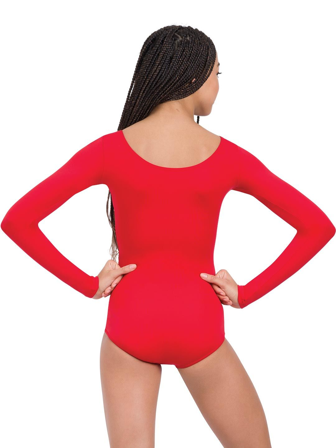 Long Sleeve Leotard For Class Or Streetwear Capezio