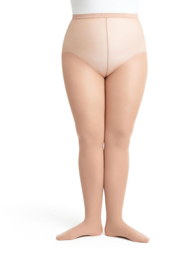 Hold \u0026 Stretch® Plus Size Footed Tight