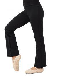 Black capezio BD202C jazz pants size child small age 4-6