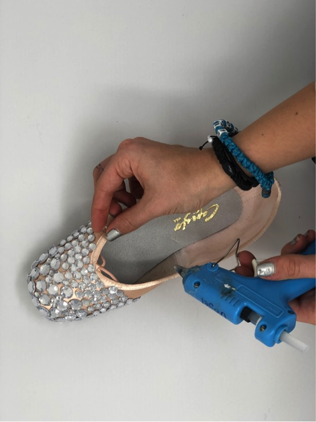 Bedazzling Pointe Shoes